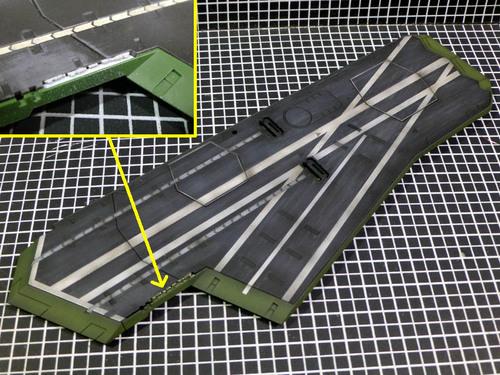 第一甲板の塗装と改造.jpg